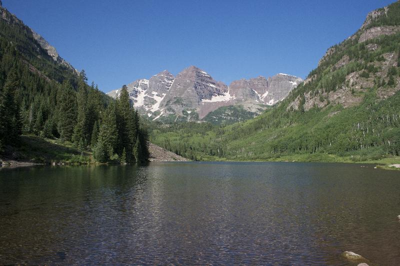 Sample photo from the Maroon Bells, Colorado